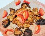 鶏むね肉のニンニク味噌焼き