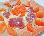 マグロと山芋のサラダ仕立て