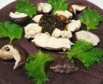 海苔の佃煮をソースに鶏むね肉を(*^。^*)